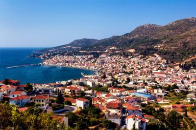 The island of Samos