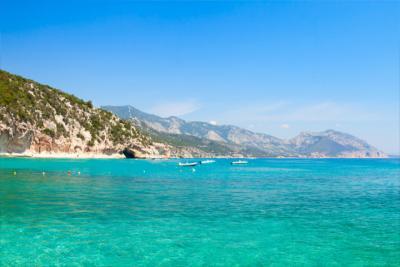 Coast in Sardinia