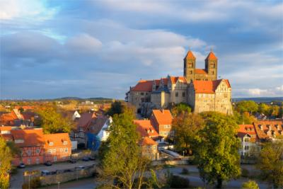 The town of Quedlinburg