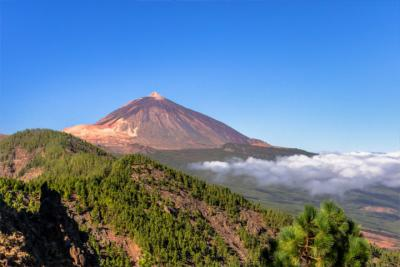 Spains's highest mountain on Tenerife