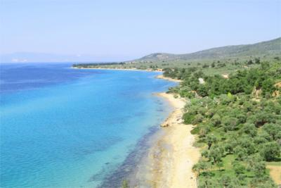 Thasos in the North Aegean