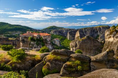 Meteora Monastery in Thessaly