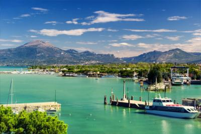 A famous lake in Veneto