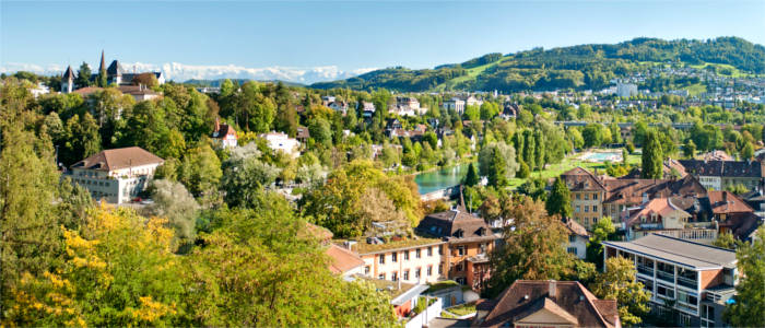 Bern - city and nature