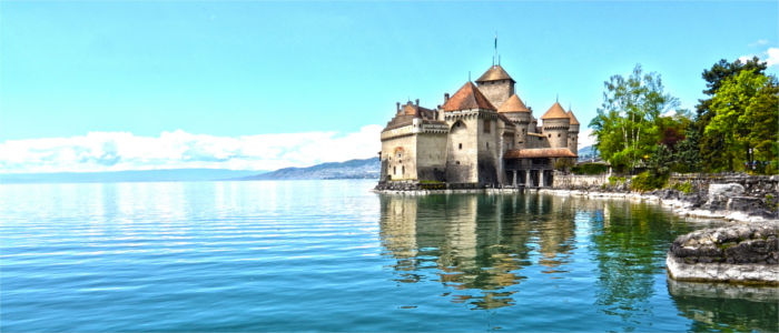 Château de Chillon at Lake Geneva