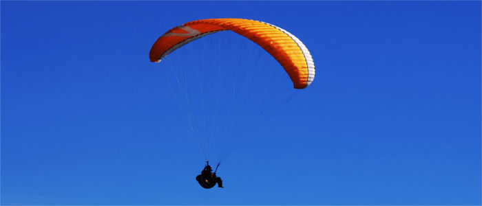 Paragliding in Solothurn