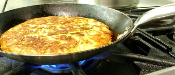 A rösti from the Canton of Solothurn