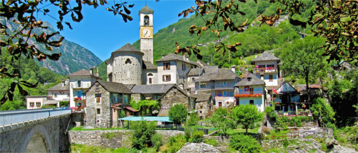 The village Lavertezzo