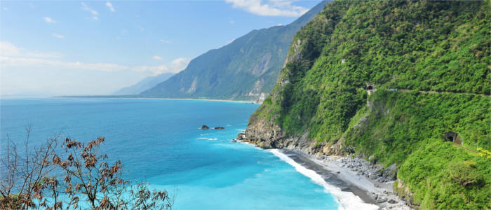 Taiwan's exciting east coast