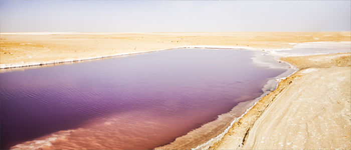 Tunisia's salt lakes