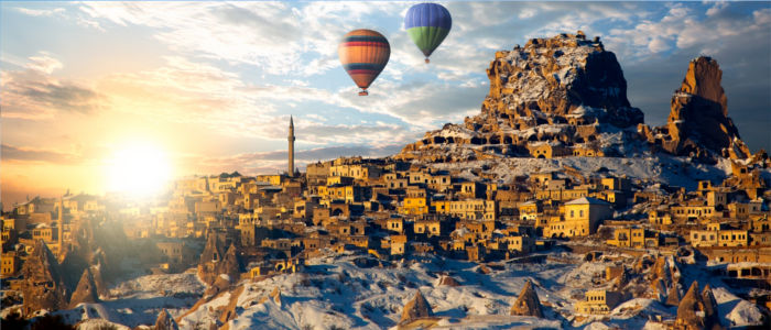 Cappadocia in Central Anatolia, Turkey