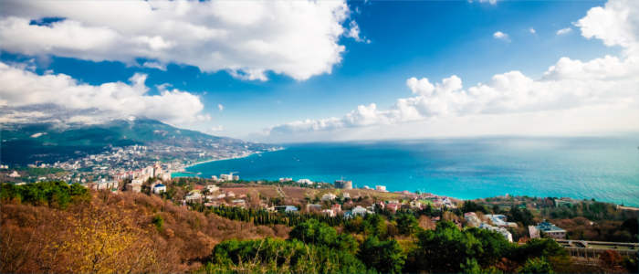 View of Yalta - Black Sea