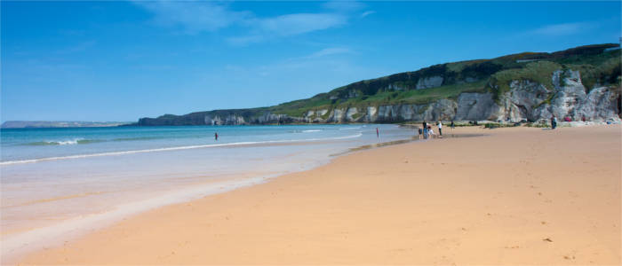 Beach in County Antrim