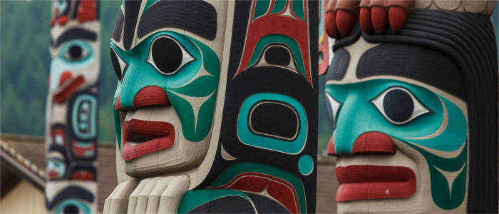 Art handicraft made by Alaska's native inhabitants