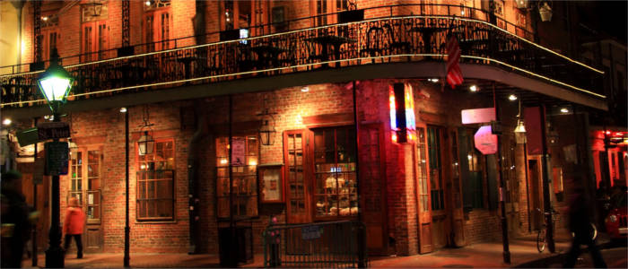Nightlife in the French Quarter