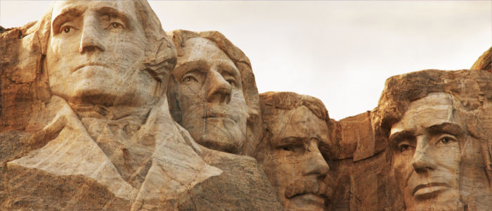 Mount Rushmore National Memorial in the USA