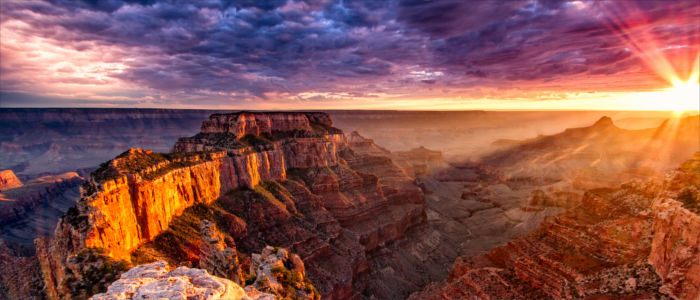 Natural beauty Grand Canyon in the USA
