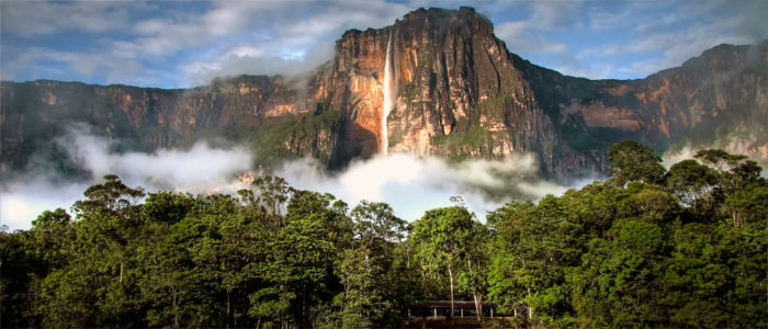 Angel Falls - waterfall in Venezuela