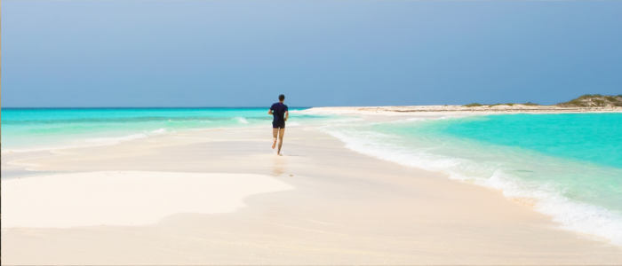 Dream beaches on Los Roques - Venezuela