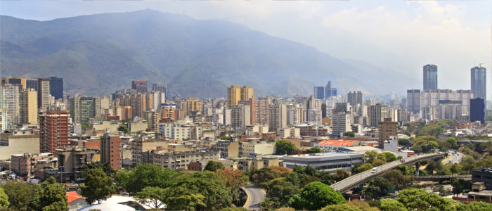 Caracas - the capital of Venezuela