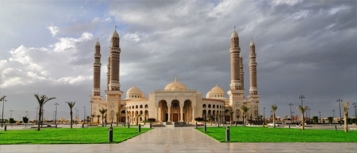 Al Saleh Mosque in Yemen
