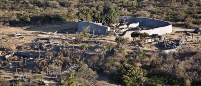Cultural-historical site Great Zimbabwe